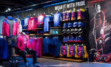 La boutique officielle du FC Barcelone