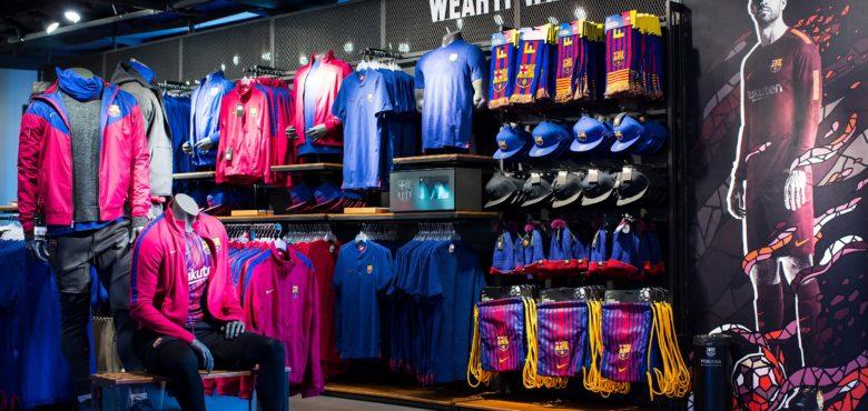 La boutique officielle du FC Barcelone